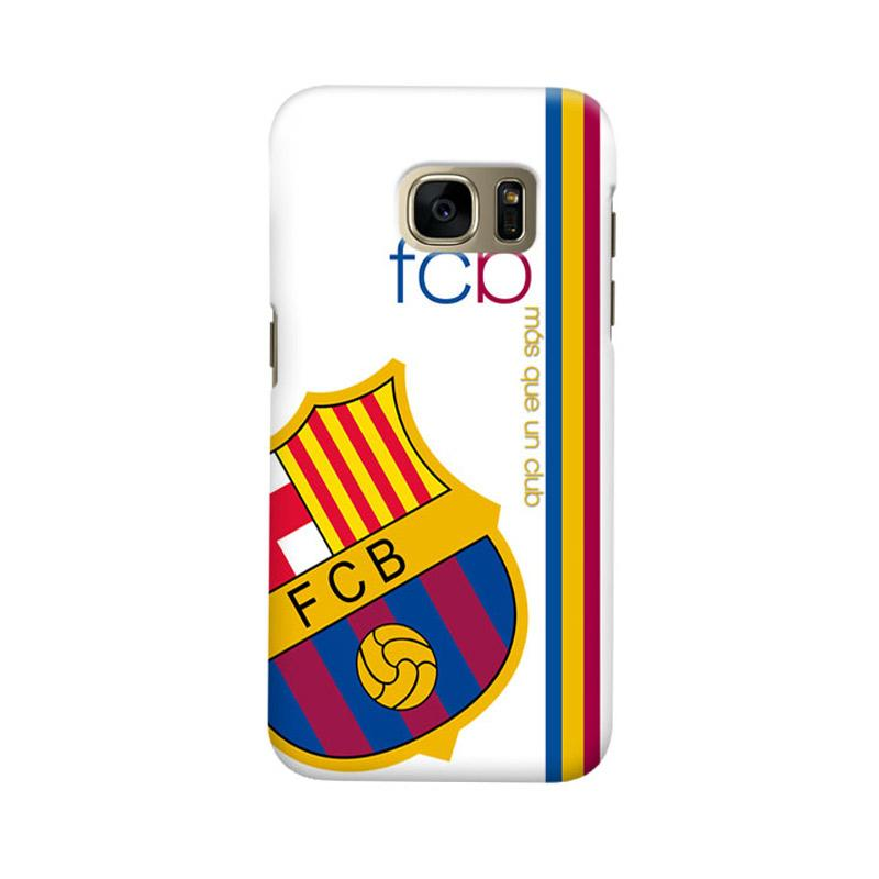 Indocustomcase FC Barcelona FCB01 Cover Casing for Samsung Galaxy S6 Edge