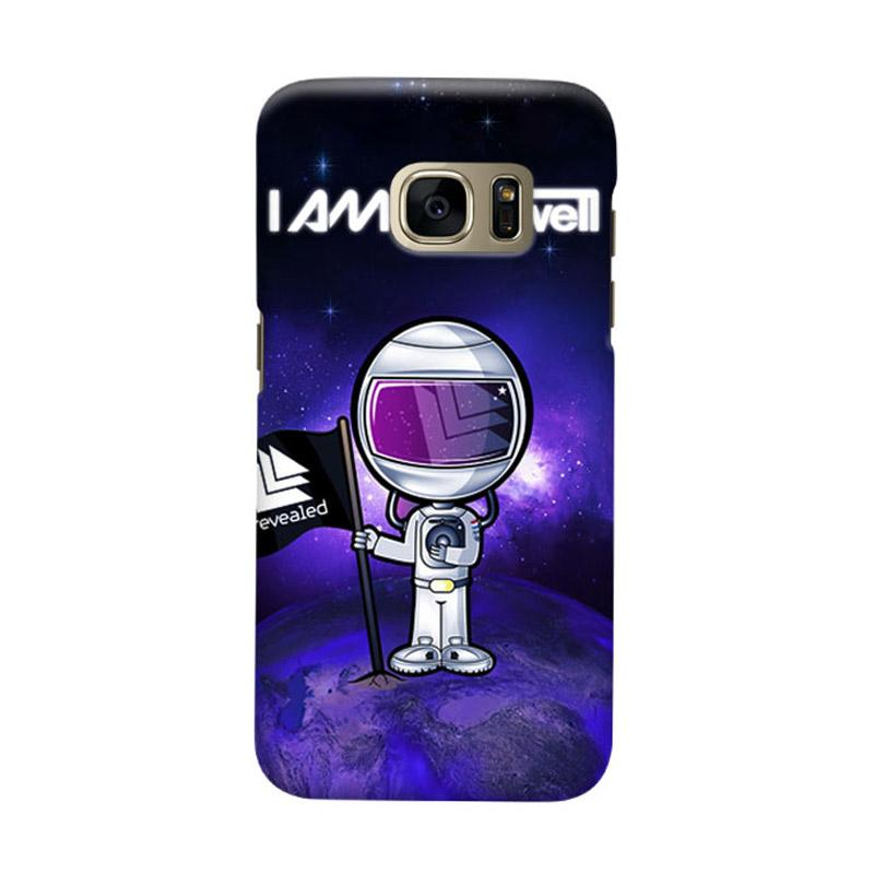 Indocustomcase Hardwell Cover Casing for Samsung Galaxy S7 Edge