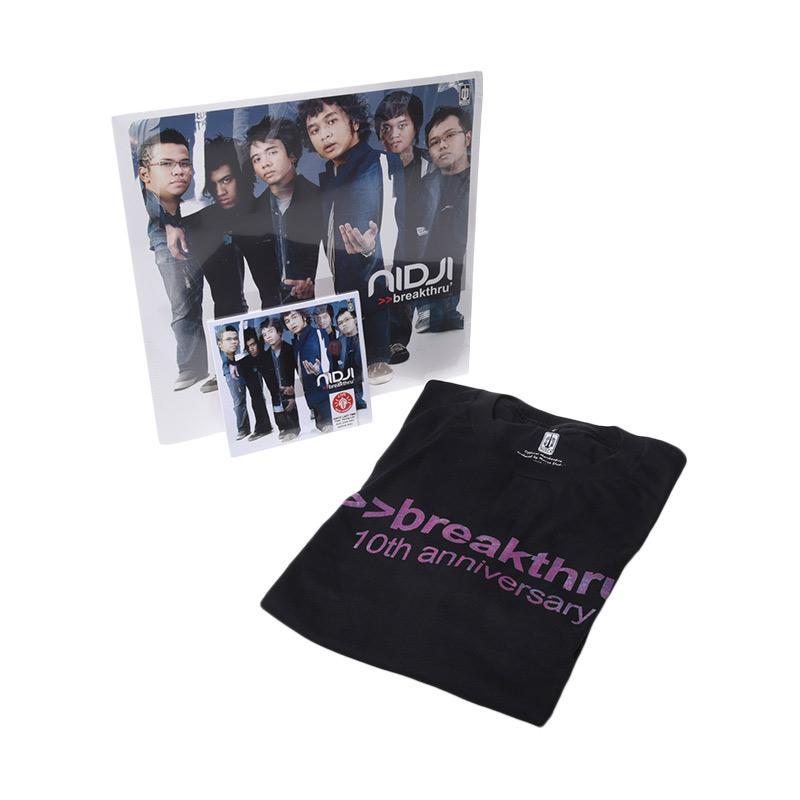 Musica Studio Nidji Breakthru Paket Bundling [Vinyl/CD/T-shirt]
