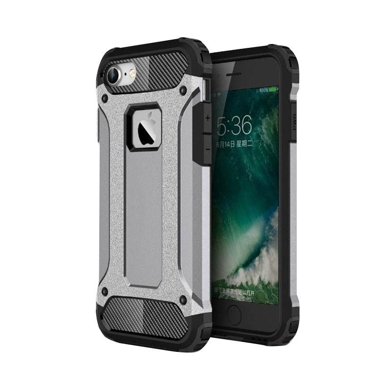 OEM Transformers Iron Robot Hardcase Casing for iPhone 6 Plus 5.5 Inch - Silver