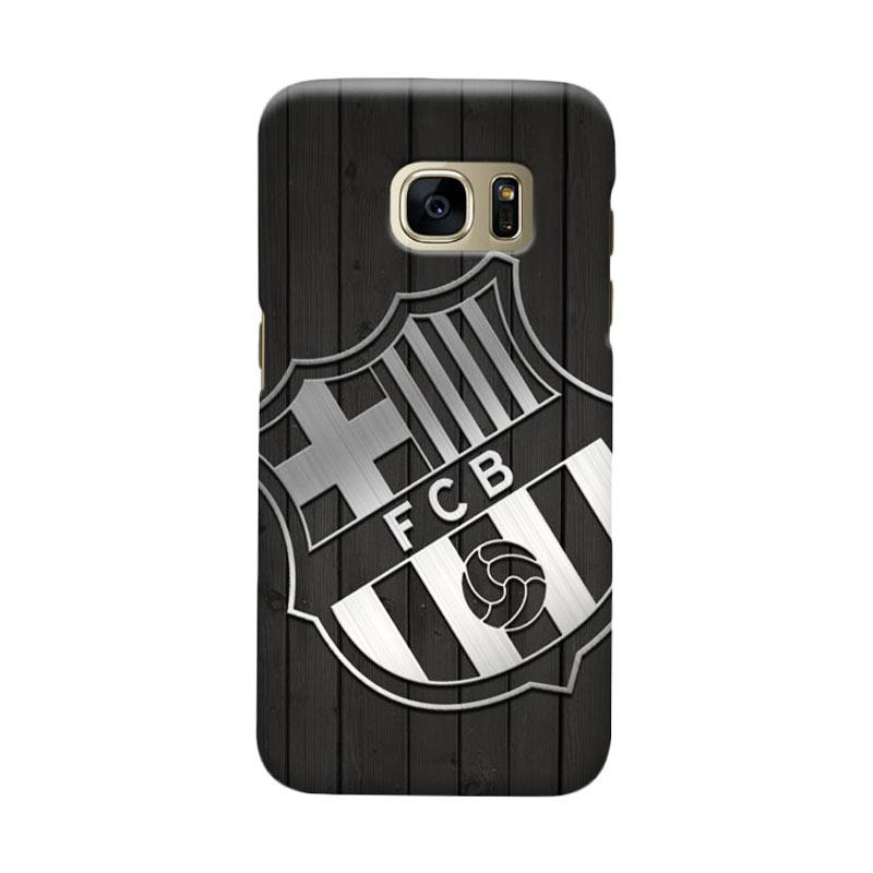 Indocustomcase FC Barcelona FCB02 Cover Casing for Samsung Galaxy S7 Edge