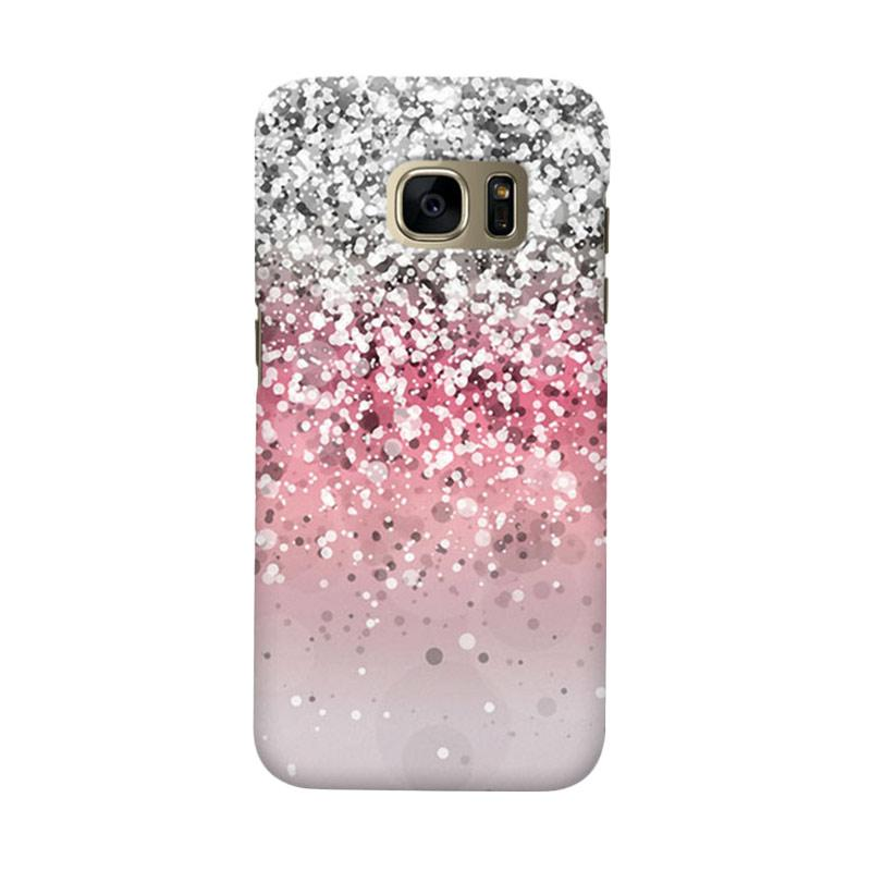 Indocustomcase Glitter 2 Cover Casing for Samsung Galaxy S7 Edge