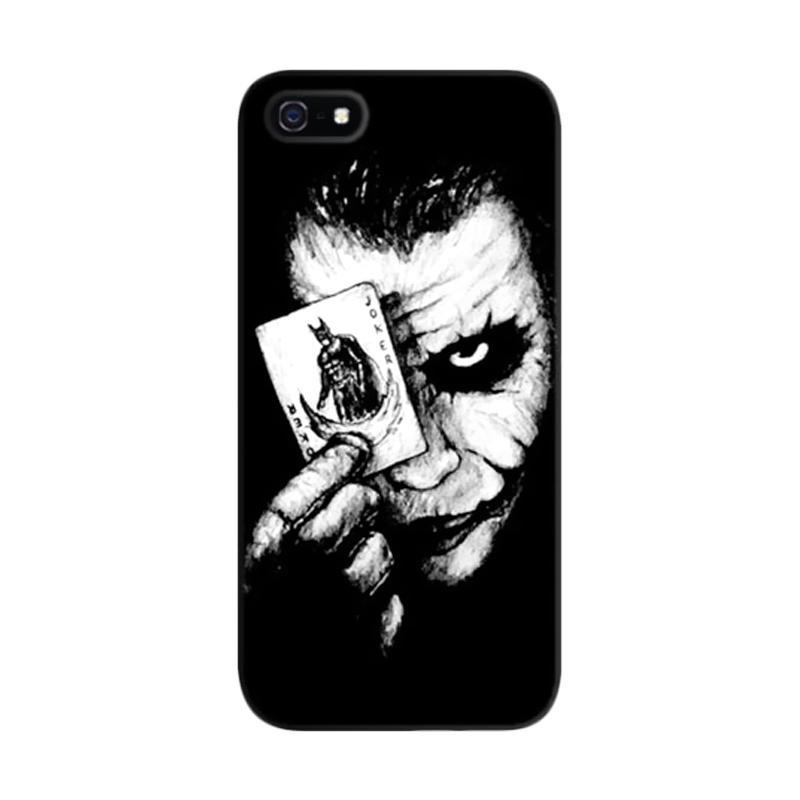 Indocustomcase Joke Face Custom Hardcase Casing for Apple iPhone 5/5S/SE