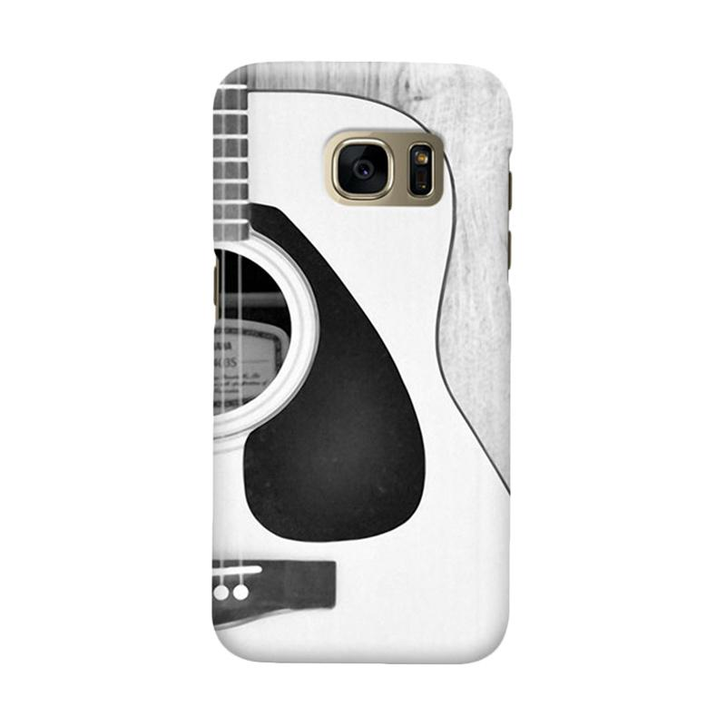 Indocustomcase Guittar Cover Casing for Samsung Galaxy S6 Edge