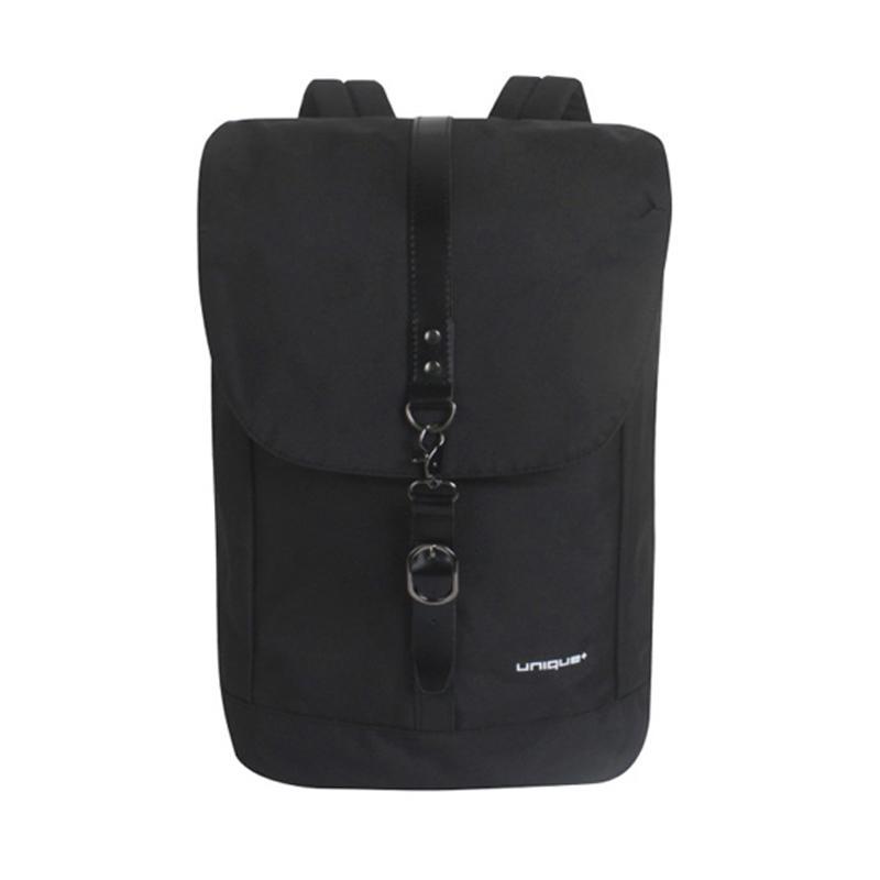 harga Unique Ransel Laptop Backpack Multifungsi Model Santorini Tas Pria - Hitam Blibli.com