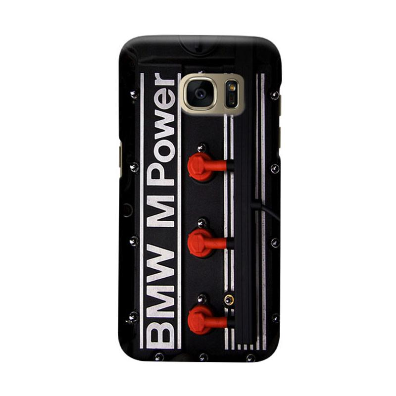 Indocustomcase BMW Cover Engine Cover Casing for Samsung Galaxy S6
