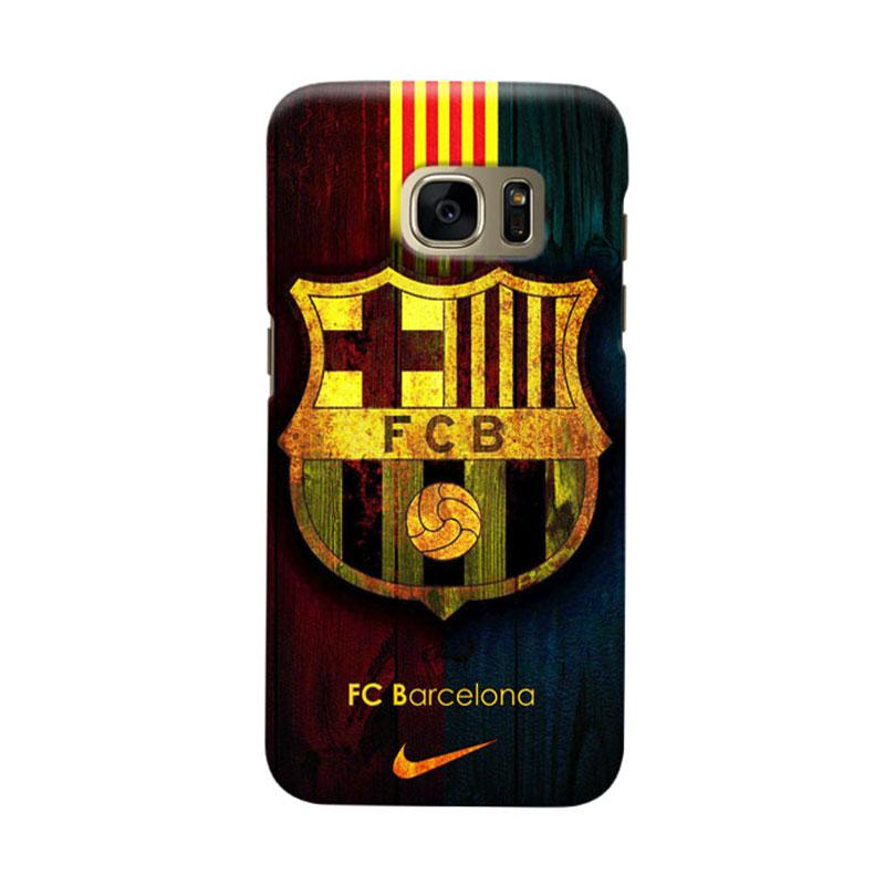 Indocustomcase FC Barcelona FCB04 Cover Casing for Samsung Galaxy S7 Edge