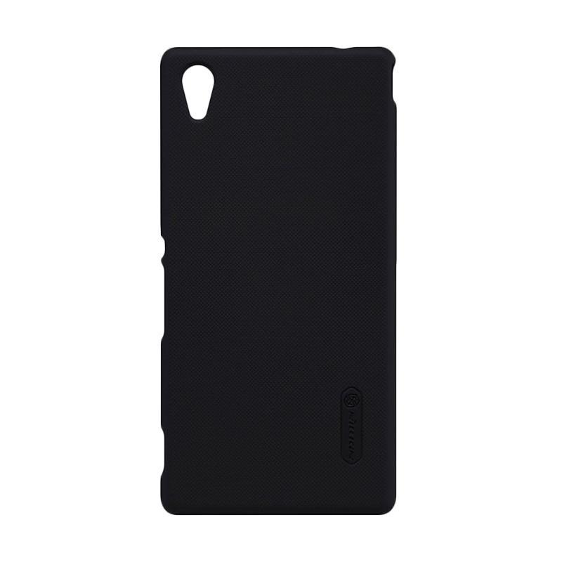 Nillkin Original Super Shield Hardcase Casing for Sony Xperia M4 Aqua - Black  [1 mm]