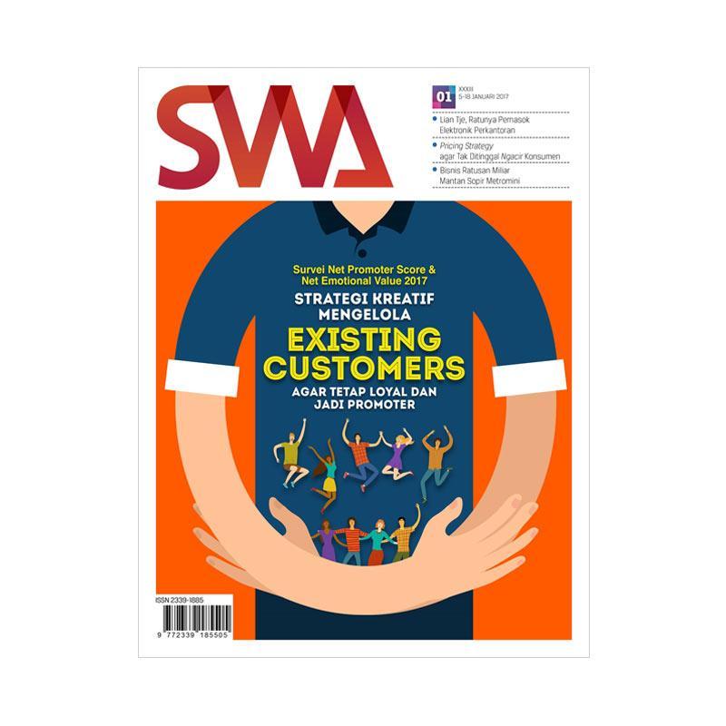 SWA Edisi 01-2017 05 -18 Januari 2017 Survei Net Promoter Score dan Net Emotional Value 2017 Majalah Bisnis