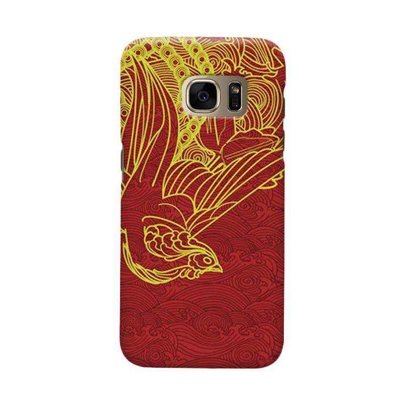 Indocustomcase love Bird Casing for Samsung Galaxy S7 Edge