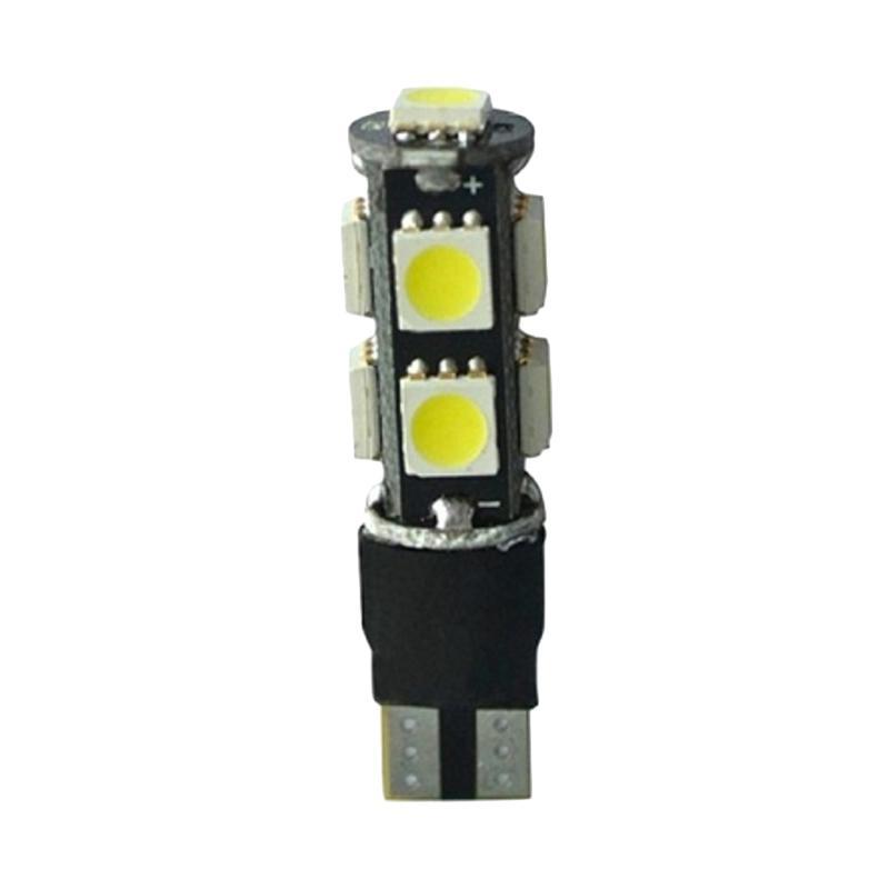 harga JMS T10 9 SMD 5050 Strobe Flash Modes Lampu LED Strobo for Mobil dan Motor - Blue [1 Pair/2 Pcs] Blibli.com