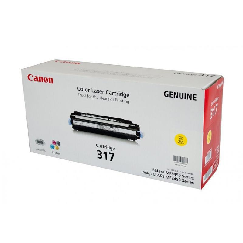 Canon Cartridge 317 Original Toner untuk Mesin Fotocopy ICMF8450C atau 9280Cdn - Yellow