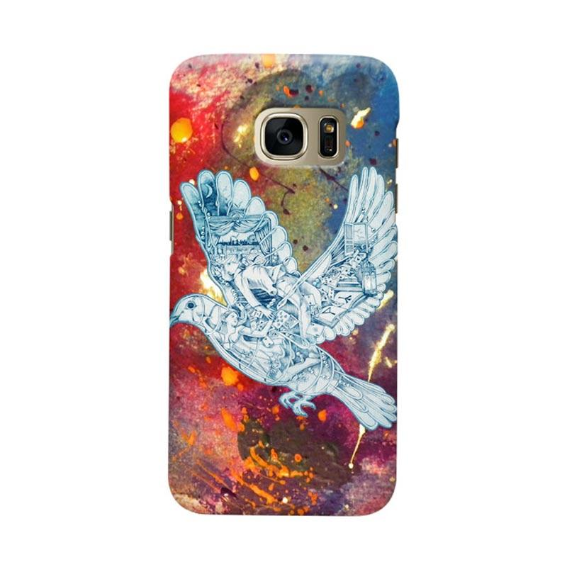 Indocustomcase Cold Play Cover Casing for Samsung Galaxy S7 Edge