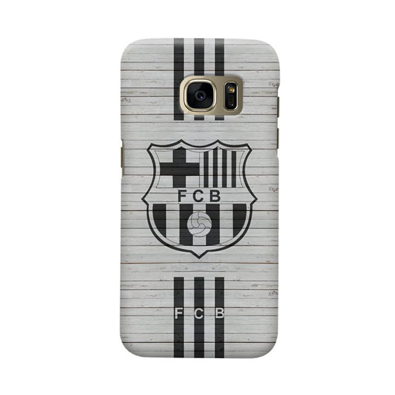Indocustomcase FC Barcelona FCB07 Cover Casing for Samsung Galaxy S6 Edge