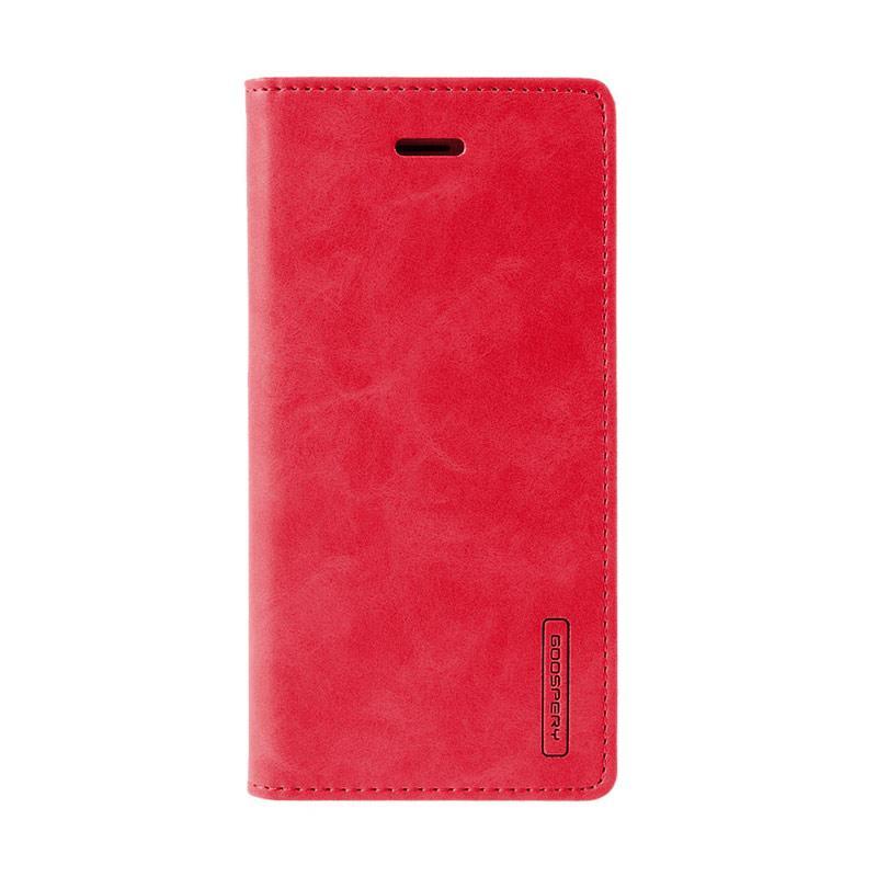 Mercury Goospery Bluemoon Flip Cover Casing for Samsung Galaxy A3 2017 - Merah