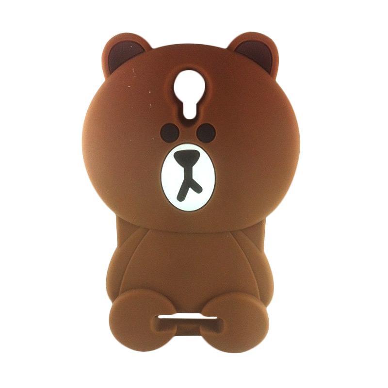 harga Case Silicon 3D Kartun Teddy Brown Line Softcase Casing for Xiaomi  Redmi Note 3 Blibli 518bec1df1