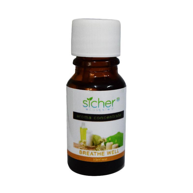 harga Sicher SA 101 Breatheweel Aromatic Fragrance Refil Pengharum Ruangan [10 mL] Blibli.com
