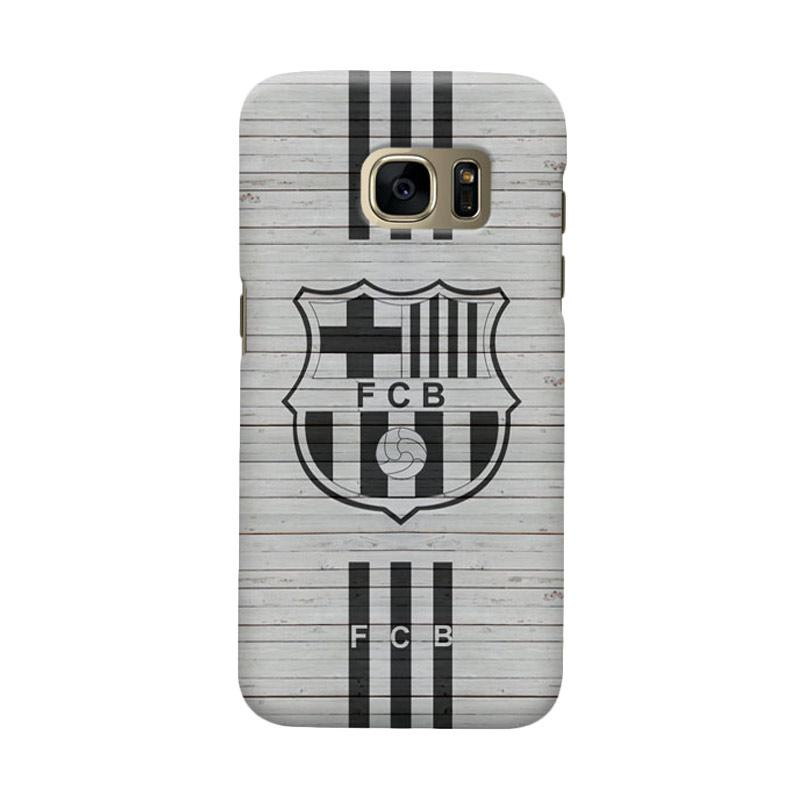 Indocustomcase FC Barcelona FCB07 Cover Casing for Samsung Galaxy S7 Edge