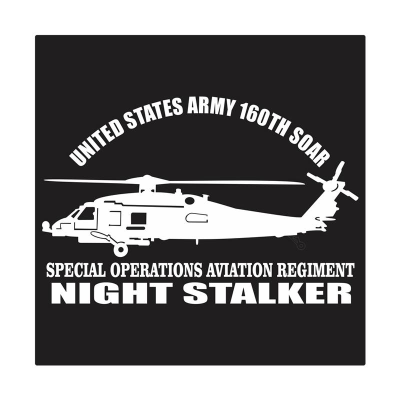 Kyle United States Army 160th Special Operation Aviation Regiment Cutting Sticker
