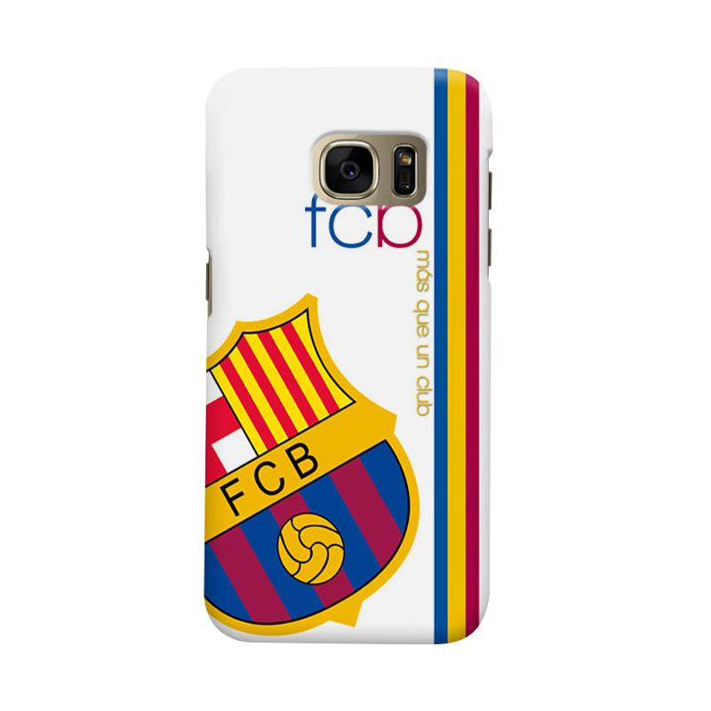 Indocustomcase FC Barcelona FCB01 Cover Casing for Samsung Galaxy S7