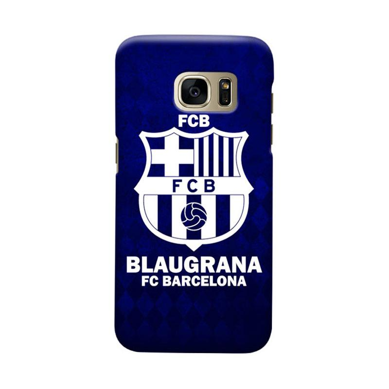 Indocustomcase FC Barcelona FCB08 Cover Casing for Samsung Galaxy S7 Edge