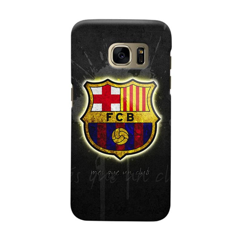 Indocustomcase FC Barcelona FCB09 Cover Casing for Samsung Galaxy S6 Edge
