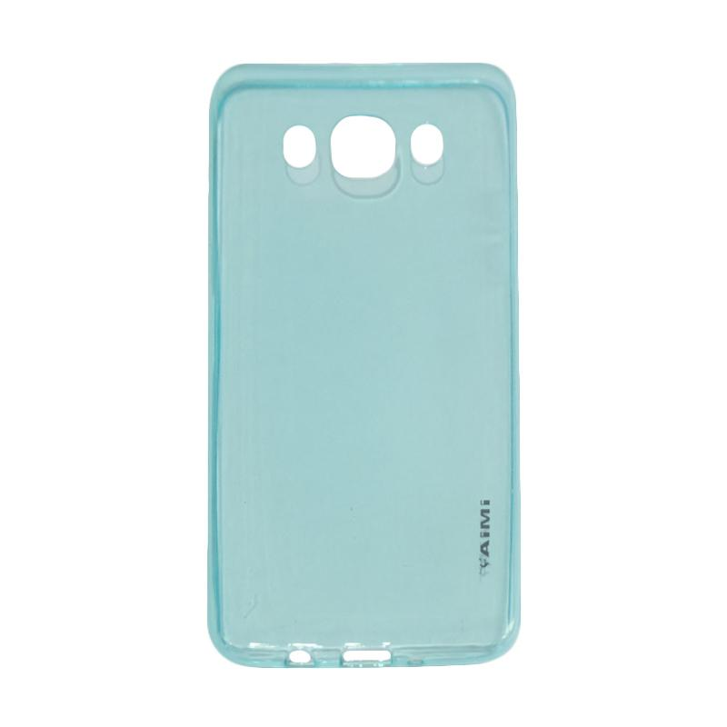 Jual AIMI UltraThin Softcase Silicone Casing for Samsung Galaxy J5 (2016) J510 - Biru