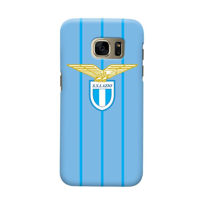Indocustomcase SS Lazio Cover Casing for Samsung Galaxy S6 Edge