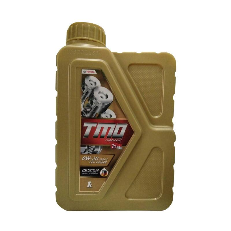 Toyota TMO 0W-20 Eco Power API SN GF-5 Fully Synthetic Oli Pelumas for Mobil [1 L]