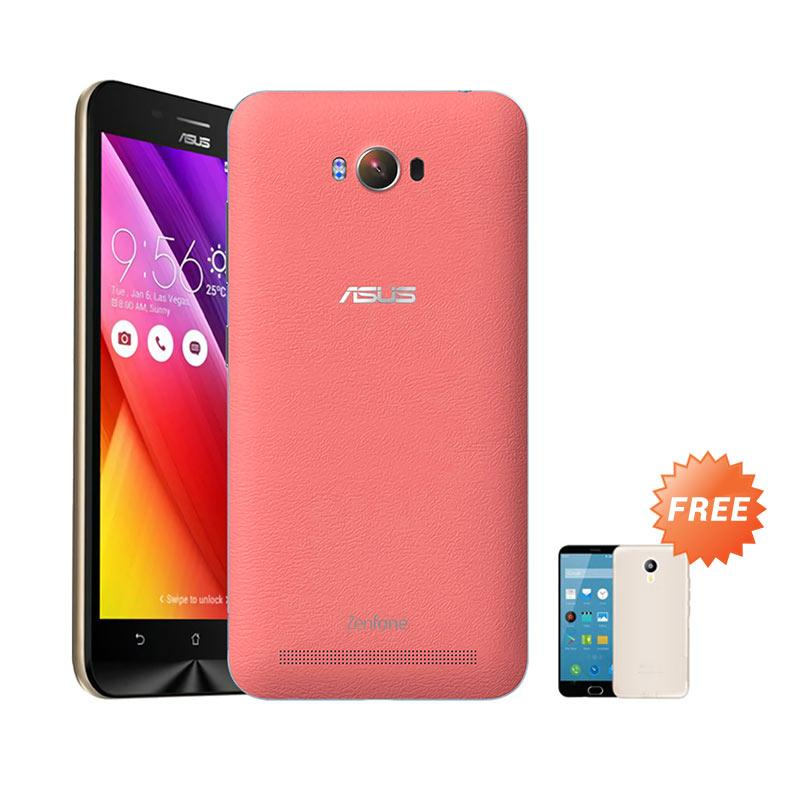 Ultrathin Aircase Casing for Asus Zenmax ZC550KL + Free Ultra thin - Red Clear [Best Seller]
