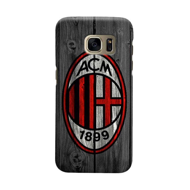Indocustomcase AC Milan ACM04 Cover Casing for Samsung Galaxy S7 Edge