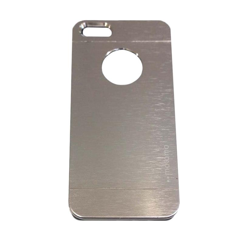 Motomo Metal Hardcase Backcase Casing for iPhone 6/iPhone 6G/iPhone 6S 4.7 Inch - Silver