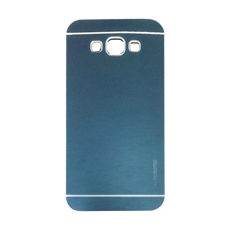 Motomo Metal Hardcase Backcase Casing for Samsung Galaxy Grand Prime G530 - Dark Blue