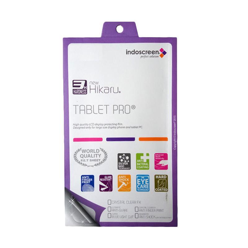 HIKARU Anti Finger Print Screen Protector for Samsung Galaxy Tab 3 10.1 Inch 2014 - Clear