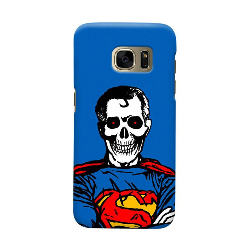 Indocustomcase Superman Dead Cover Casing for Samsung Galaxy S6