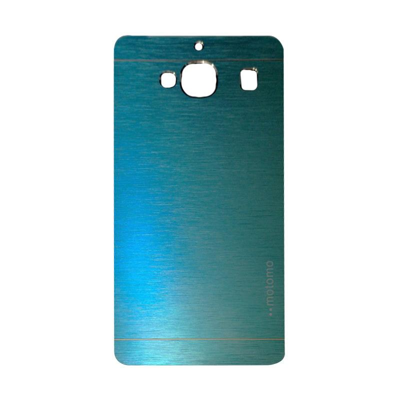 Motomo Metal Hardcase Backcase Casing for Xiaomi Redmi 2S or Redmi 2 Prime - Dark Blue