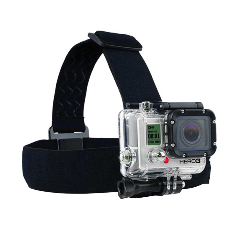 harga Action Cam Head Strap with 3 Stripe Anti-Slide Glue for GoPro/Brica B-PRO/Xiaomi Yi Blibli.com