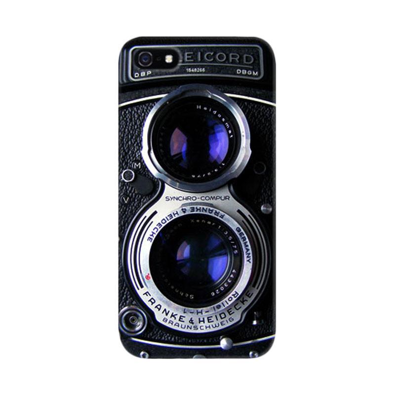 Indocustomcase Vintage Camera 3 Custom Hardcase Casing for iPhone 5/5S/SE