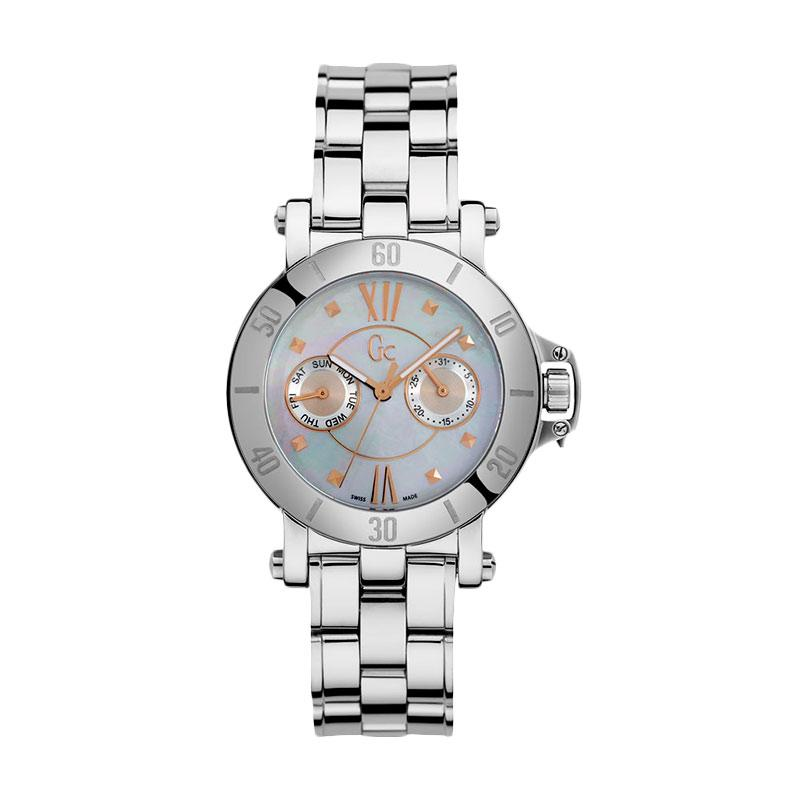 Guess Collection Gc Femme X74012L1S Stainless Jam Tangan Wanita - Silver