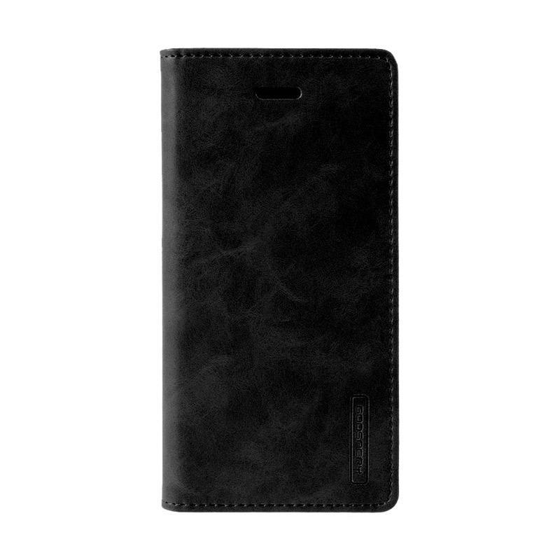 Mercury Goospery Bluemoon Flip Cover Casing for Xiaomi Redmi Note 4 - Hitam