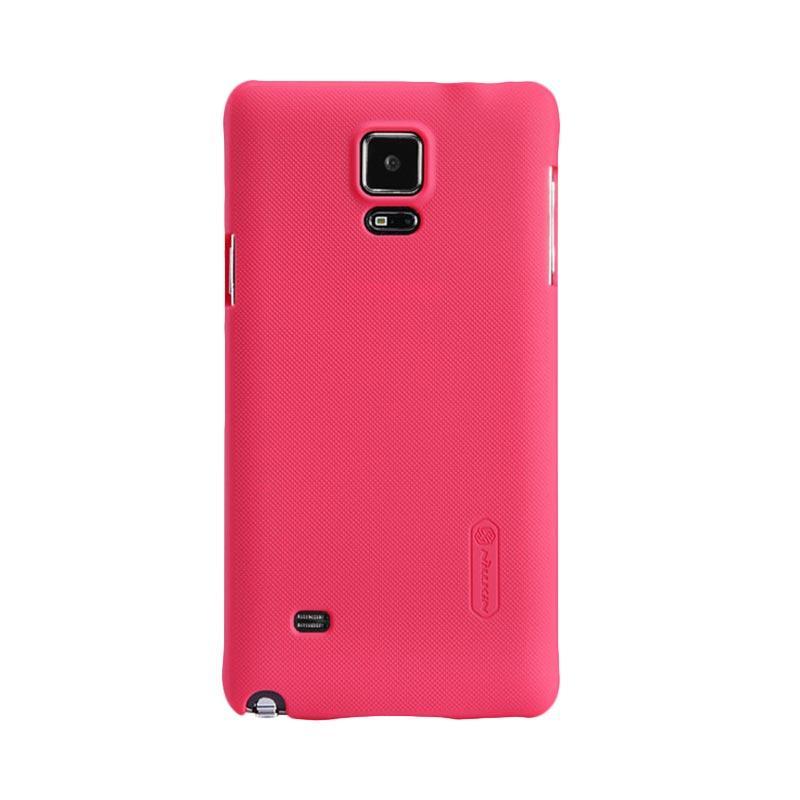 Nillkin Original Super Shield Hardcase Casing for Samsung Galaxy Note 4 - Red [1 mm]