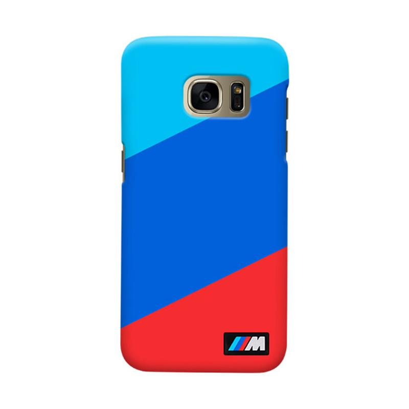 Indocustomcase BMW Stripes Cover Casing for Samsung Galaxy S6