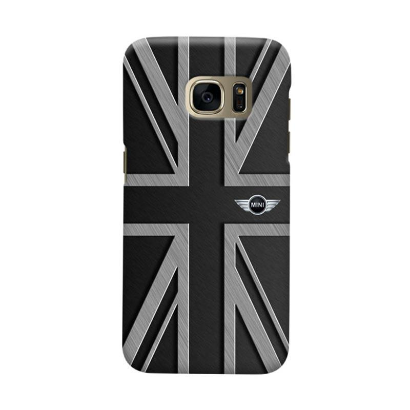 Indocustomcase UK Cooper Casing for Samsung Galaxy S6 Edge