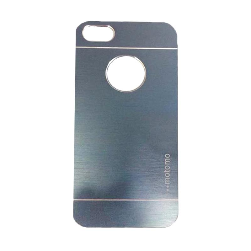 Motomo Metal Hardcase Backcase Casing for iPhone 6/iPhone 6G/iPhone 6S 4.7 Inch - Dark Blue