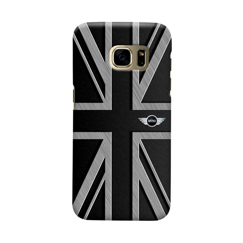 Indocustomcase UK Cooper Cover Hardcase Casing for Samsung Galaxy S7 Edge