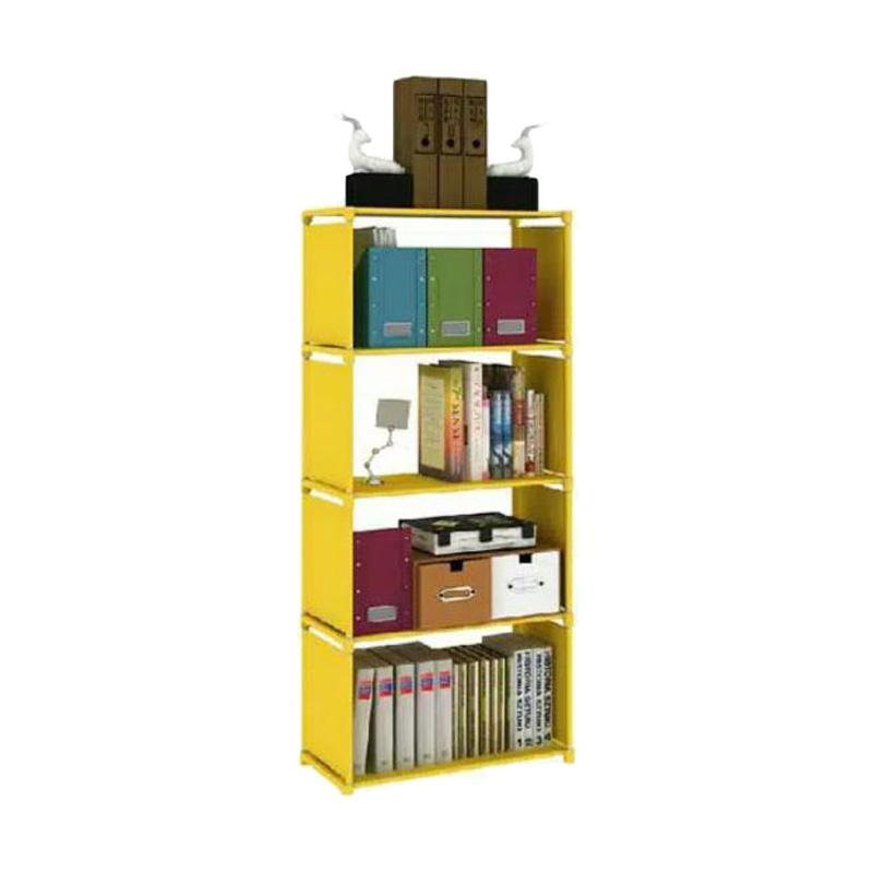 Gogo Model Rak Buku Portable Serbaguna [4 Susun]