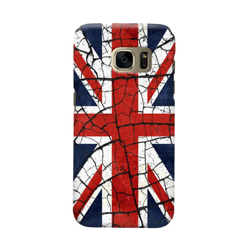 Indocustomcase Union Jack Casing for Samsung Galaxy S6 Edge