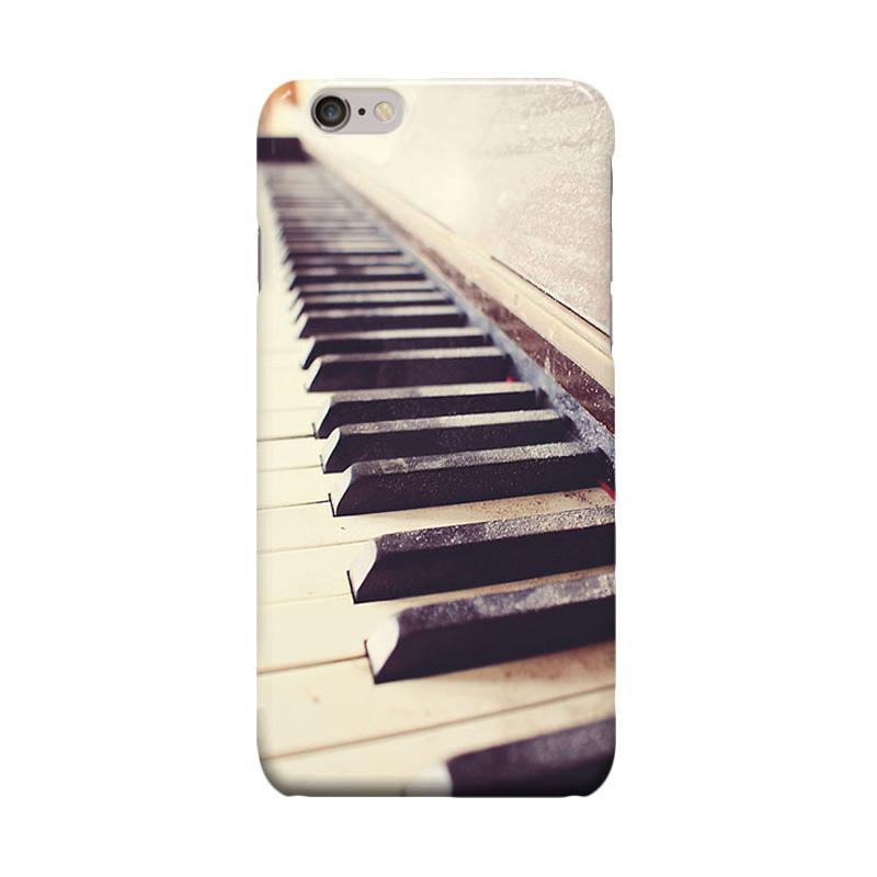 Indocustomcase Piano Cover Casing for Apple iPhone 6 Plus or 6S Plus