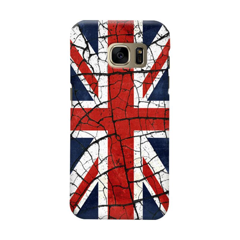 Indocustomcase Union Jack Casing For Samsung Galaxy S7 Edge