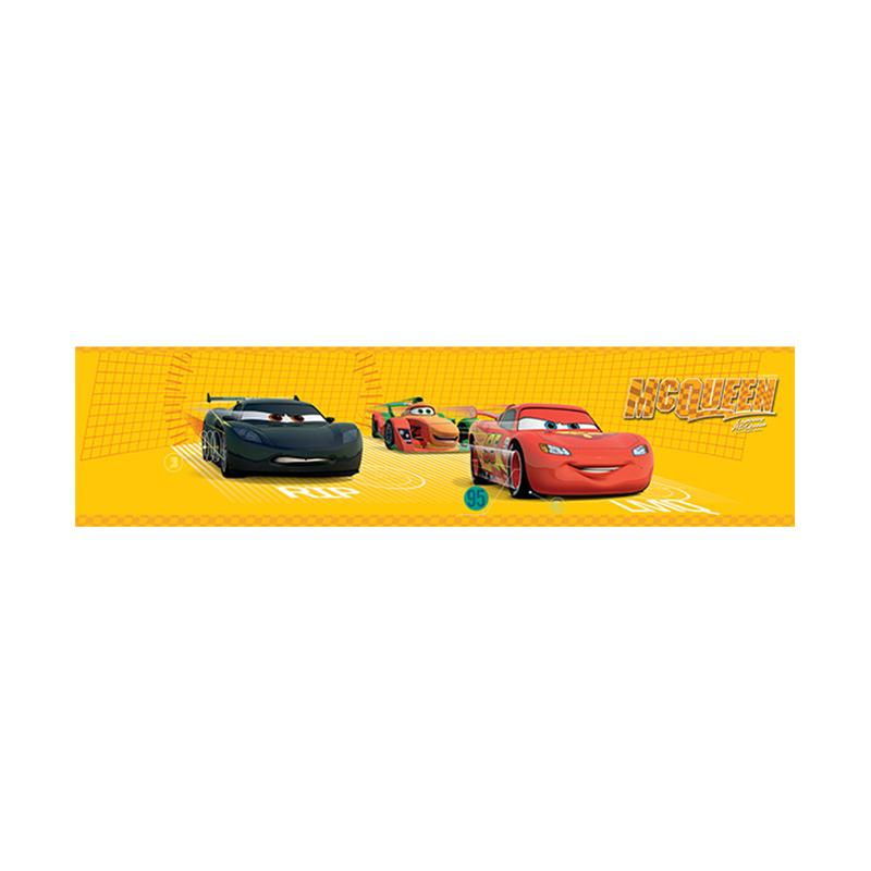 Hyundae Fixpix DT 23845 Border Sticker The Cars And Friends - Yellow [15 cm x 5 m]